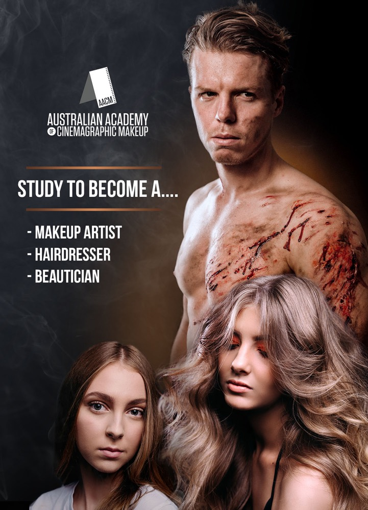 Why Study makeup, hairdressing or beauty with AACM Brisbane and Melbourne