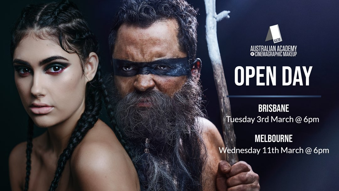 AACM Brisbane and Melbourne March 2020 Open Day diploma makeup Courses
